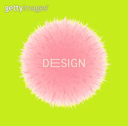 Fluffy ball design