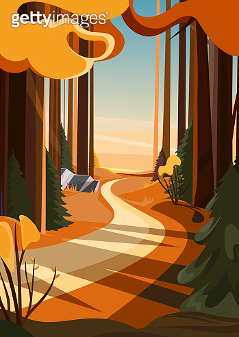 가을 풍경 배경