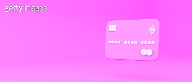 분홍색 3d 오브젝트