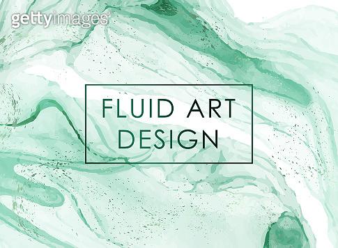 Fluid Art Background