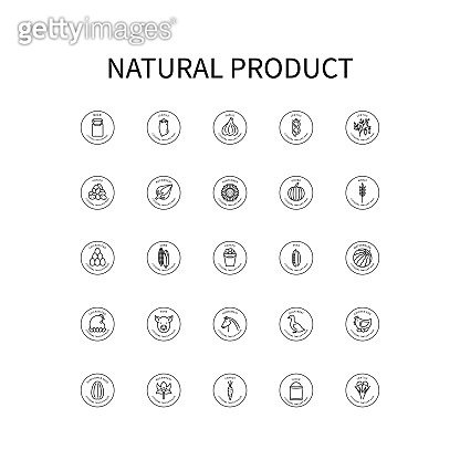 Natural Product icons