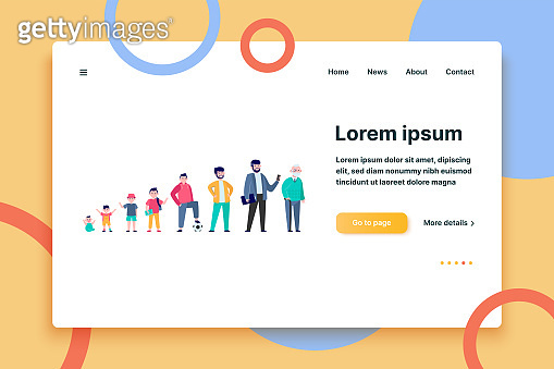 website vector illustration