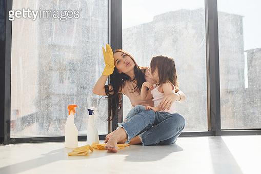 아이와 함께하는 청소