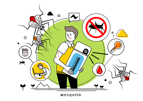Injurious Insect Illust