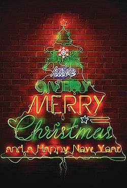 Christmas Neon Style