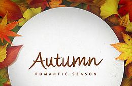 가을 낙엽 프레임