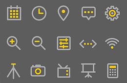 모바일 픽토그램 아이콘