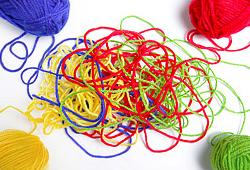Expression by yarn