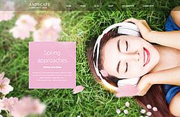 봄 웹템플릿