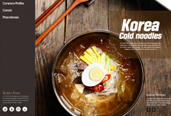 Web Template _ Korean Food