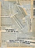 Grungy Newsprint