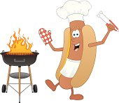 Hot Dog and BBQ Grill