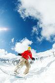 Ski resort in India