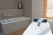 Modern Spa and Massage room