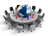 United nations, diplomacy, strategy, world leadership 3d concept