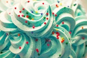 Blue Cupcake Cream