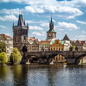 Prague, Charles Bridge (Karluv Most)