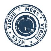 MERS Virus Stamp