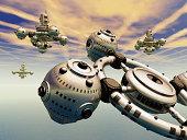 Alien Spacecrafts
