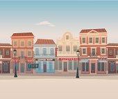 Seamless city street