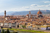 Florence river cityscape