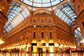 """Vittorio Emanuele II Gallery. Milan, Italy"""