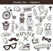Hipster doodles