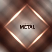 Vector metal background