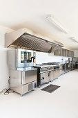 interior, professional kitchen