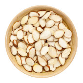 raw sliced almond