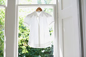 Blouse On Hanger At Home