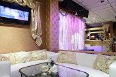luxury restaurant in european style