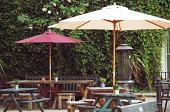 Outdoor pub