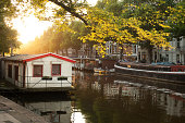Amsterdam city view. The Netherlands