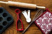 Baking utensils.