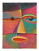 Face 10_2004_Acrylic on canvas