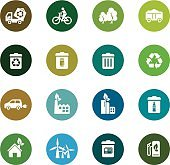 Environmental Protection Color Icons