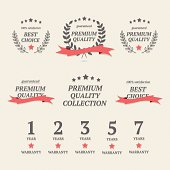 "Collection of ""premim quality"" and ""best choice"" elements"