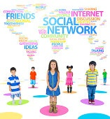 Children and Social Networking Themed