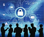 Vector of Business And Security