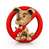 forbidden dog entry