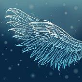 Magic angel wing