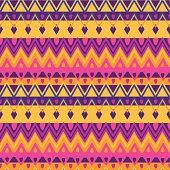 Bright ethnic zigzag pattern