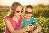 Enjoyment in smartphone
