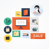 Retail commerce and marketing elements