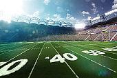 American football stadium arena