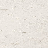 Old white stucco wall background