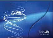 Medical Abstract DNA Background