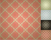Chinese Seamless Damask wallpaper background