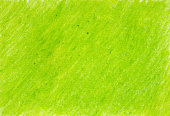 Painted on paper crayon green background